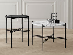 GamFratesi TS Lounge Table Marble by Gubi