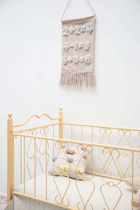 Wall Hanging Baby Numbers by Lorena Canals