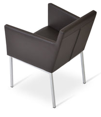 Harput Chrome Arm Chair by Soho Concept