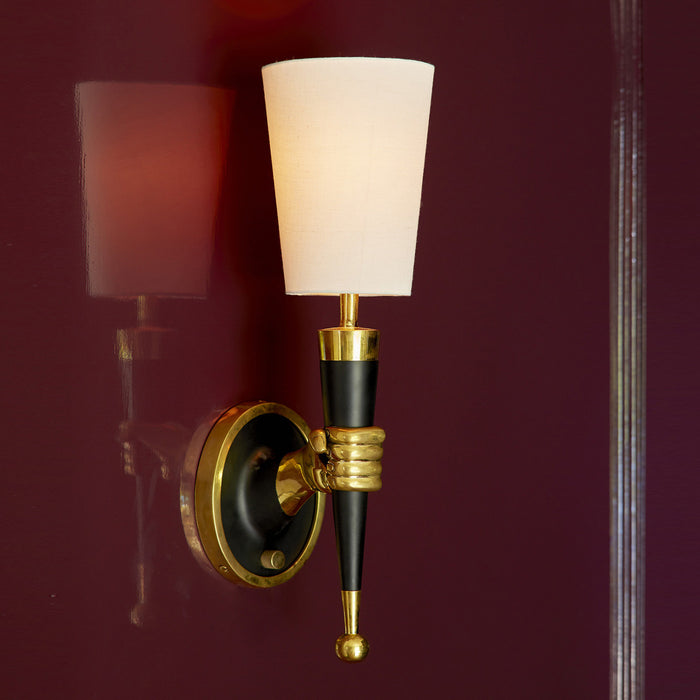 Brass Hand Sconce by Jonathan Adler