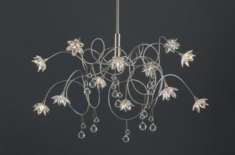 Harco Loor Crystal Diamond Suspension Light