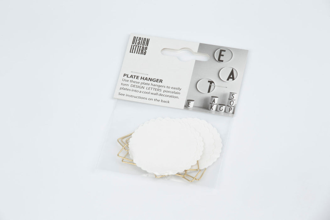 Personal Porcelain Plate (A-Z) by Design Letters