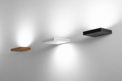 Lumen Center Segno Maxi Quadro, Segno Maxi Retto, Segno Maxi Double Wall Spot Lights