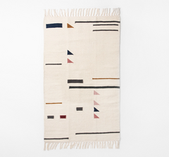 Kelim Rug Color Triangles by Ferm Living