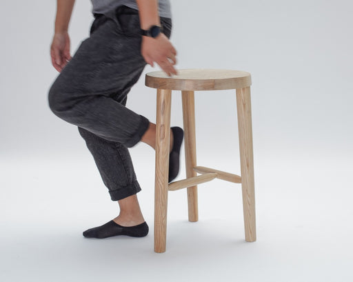 Milking Stool, Bar and Counter Height, from the LAXseries by MASHstudios