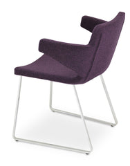 Nevada Arm Flat Dining Chair by Soho Concept