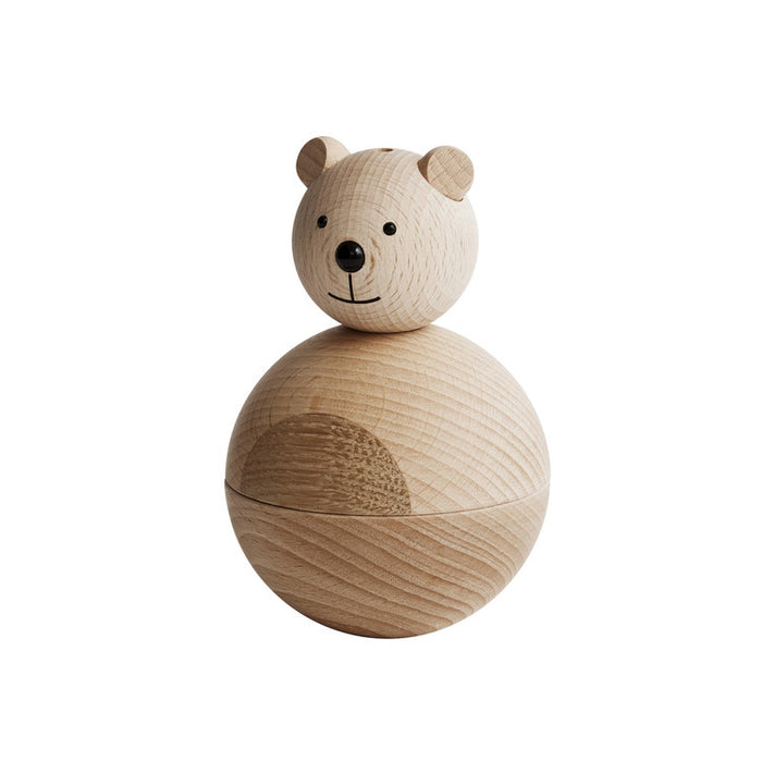 Bear Wood Figure by OYOY