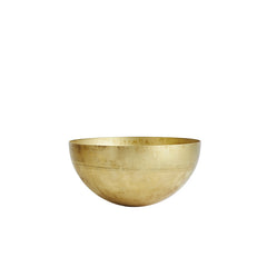 Raw Brass Bowl by OYOY