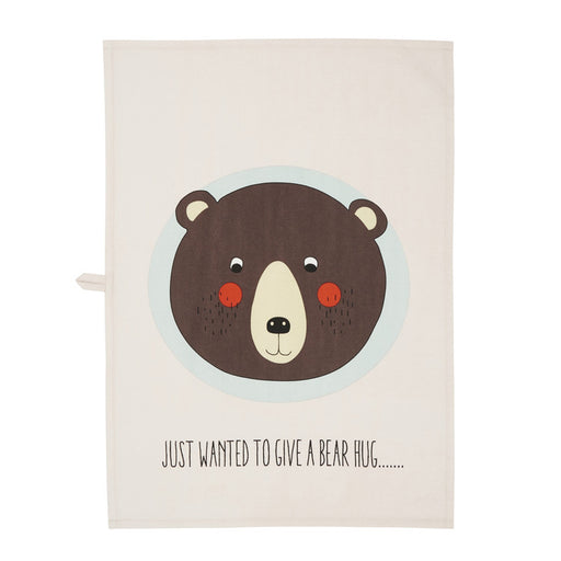 Bear Tea Towel by OYOY Mini