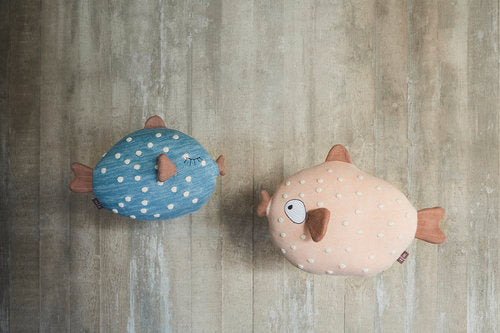 Little Finn & Ms. Ruth Cushions by OYOY