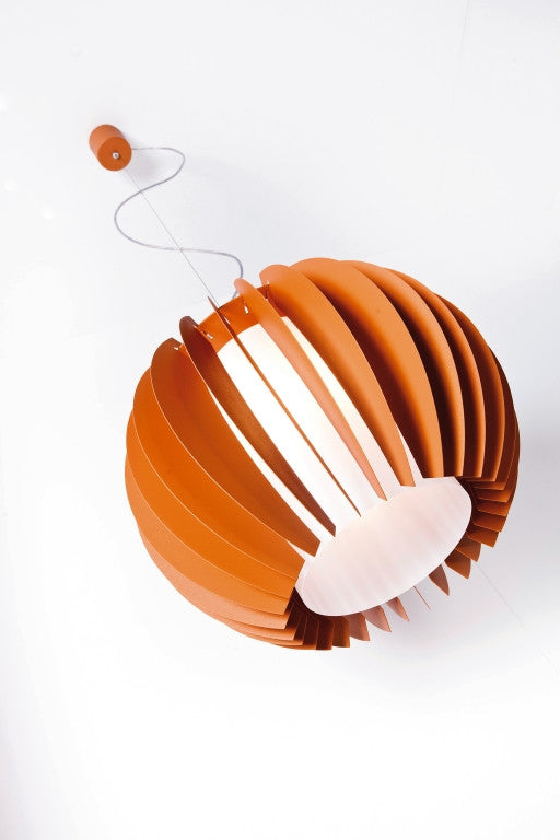 Lumen Center Orange, Orange P Suspension Lamp