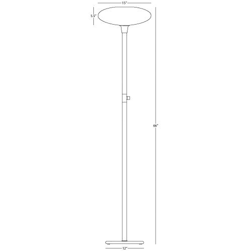 Ovo Floor Lamp by Robert Abbey