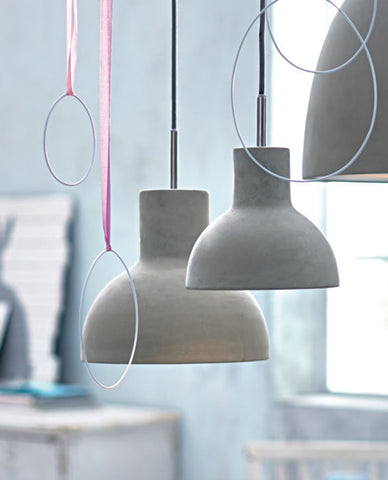 Castle Bell Pendant Lamp by Seed Design