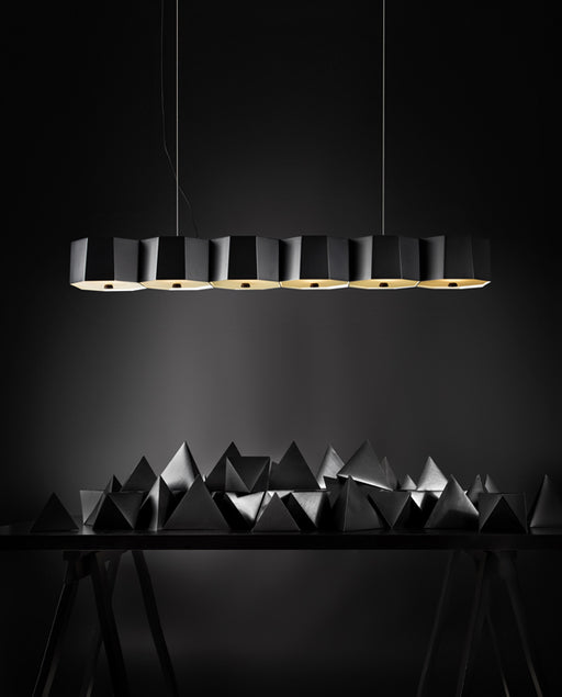 Zhe P6 Pendant Lamp by Seed Design