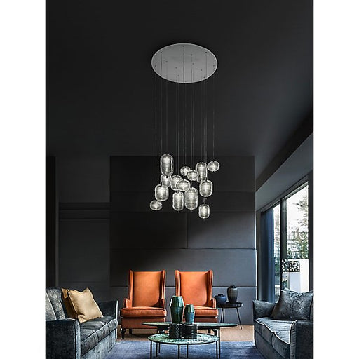 Jefferson LED 14-Light Multi-Light Pendant Light by Studio Italia