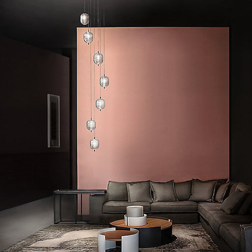 Jefferson LED Round 7-Light Pendant Light by Studio Italia