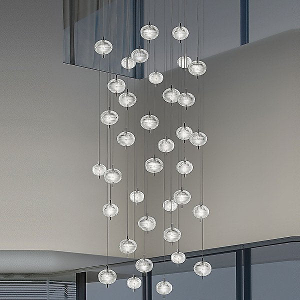 Jefferson LED 36-Light Mini Multi-Light Pendant by Studio Italia