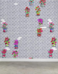 Gerani Wallpaper by Paola Navone for NLXL