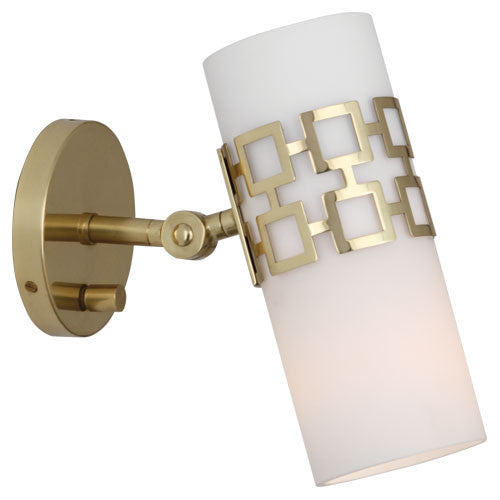 Jonathan Adler Parker Adjustable Wall Sconce by Robert Abbey
