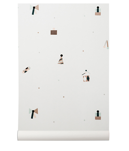 Party Wallpaper by Ferm Living