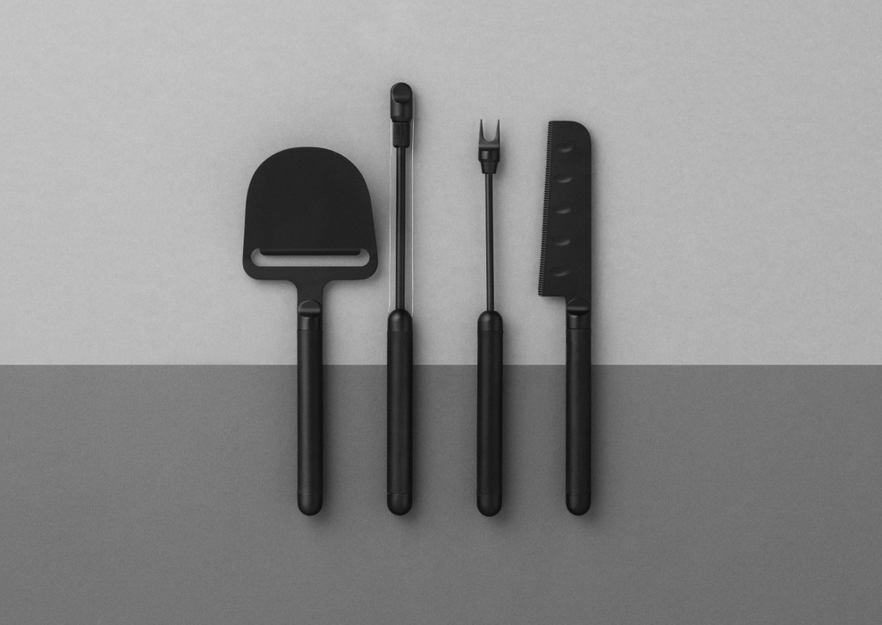 Pebble Cheese Utensils by Normann Copenhagen