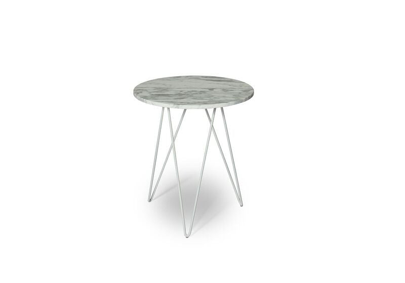 Solo Accent Table w/ Marble Top by Ion Design