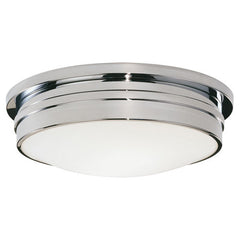 "Robert Abbey Roderick 17"" Flush Mount Light"