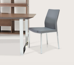 Pasha Chrome Dining Chair by Soho Concept