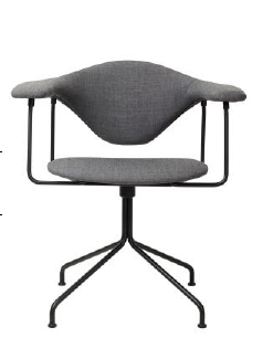 GamFratesi Masculo Swivel base Chair by Gubi