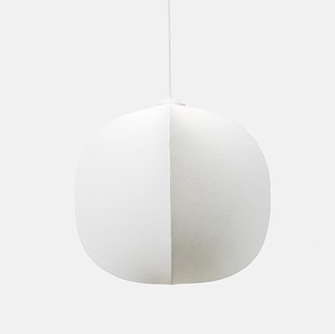Mori Squash Pendant Light by Rich Brilliant Willling