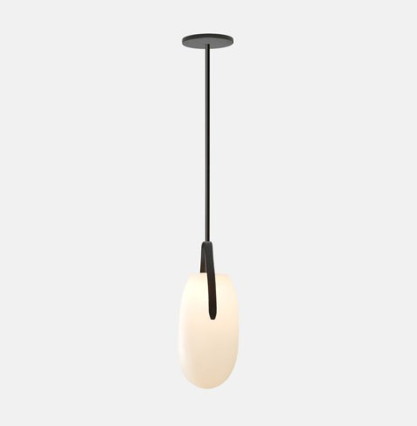 Gala Long Pendant Light by Rich Brilliant Willing