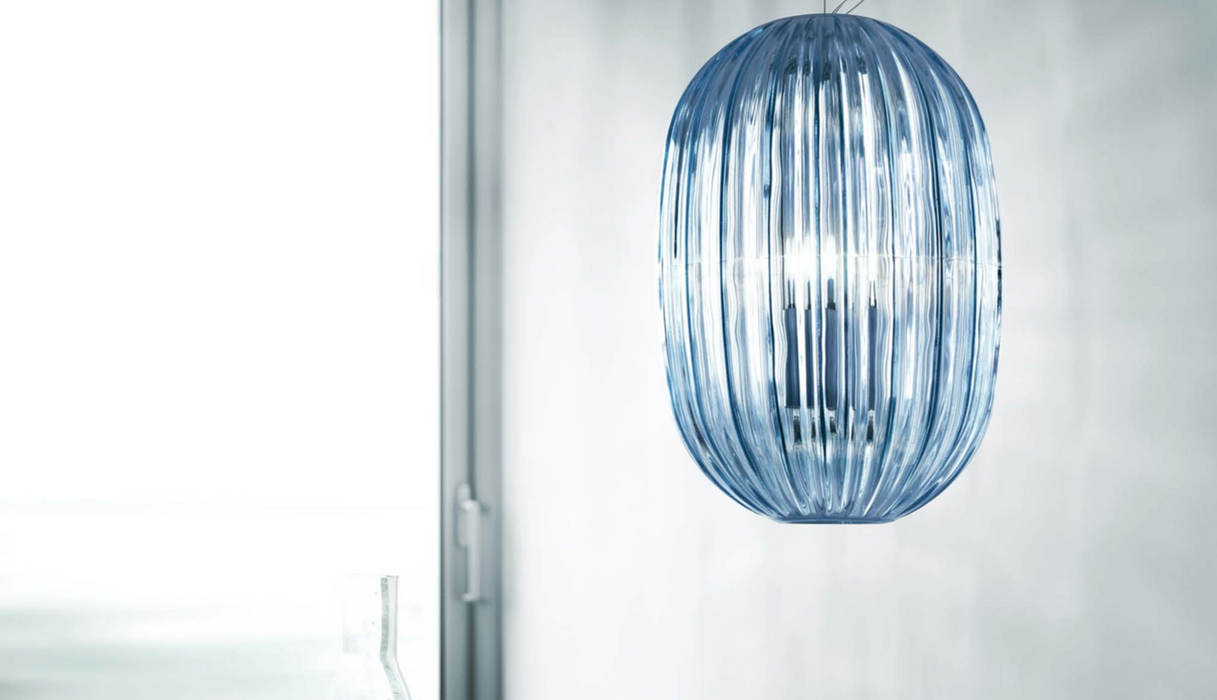 Plass Media Multiple-Shade Suspension Lamp by Foscarini