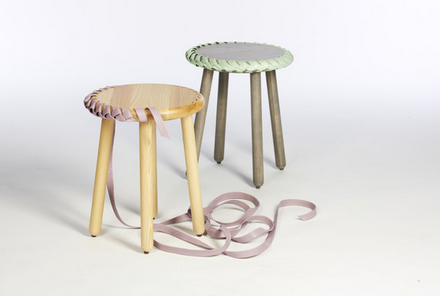 Braided Stools by Debra Folz (Made in USA)