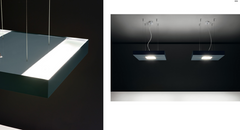 Noir Suspension Lamp by Itama