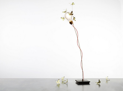 Ingo Maurer - I Ricchi Poveri - Five Butterflies - Table Lamp