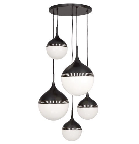 Jonathan Adler Rio Chandelier 791 by Robert Abbey