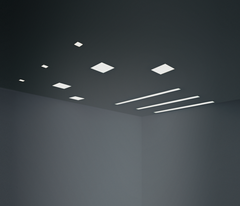 ISI ceiling light by Nemo Ark