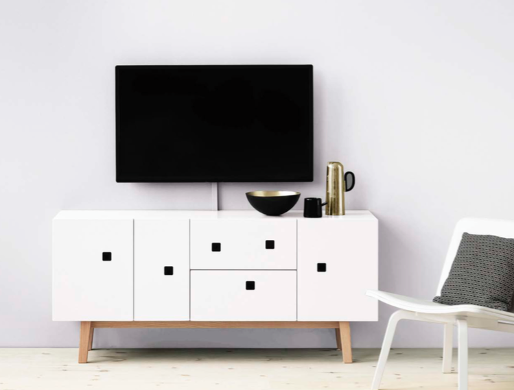 Peep M2 Media Cabinet by Zweed