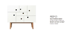 Peep C1 Multipurpose Cabinet by Zweed