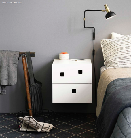 Peep S1 Bedside Cabinet by Zweed
