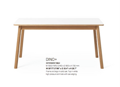 Dino Extendable Dining Table by Zweed