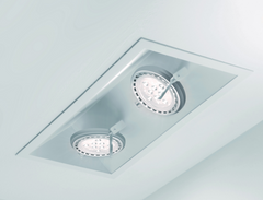 Roof Trimmed ceiling light by Nemo Ark