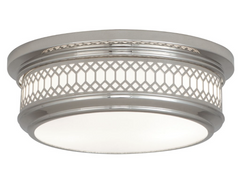 Williamsburg Large Tucker Flush Mount Ceiling Light by Robert Abbey