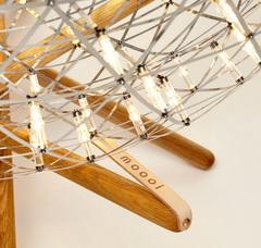 Raimond Tensegrity LED Floor Lamp by Moooi