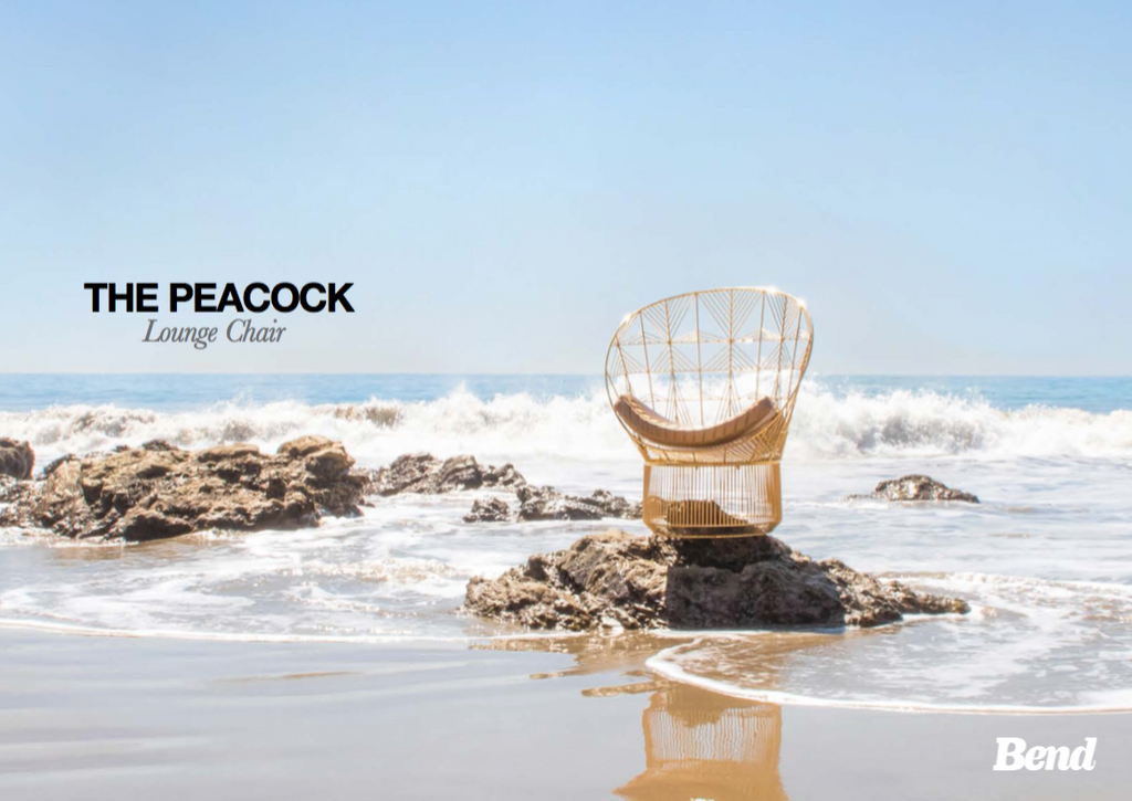Peacock Lounge Chair by Bend Goods USA