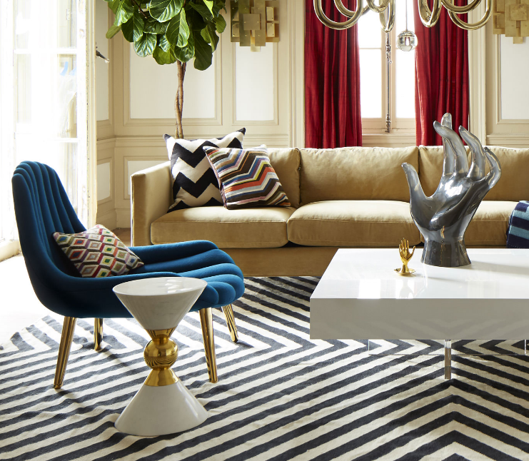 Canaan Accent Table by Jonathan Adler