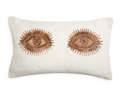Muse Eyes Pillow by Jonathan Adler