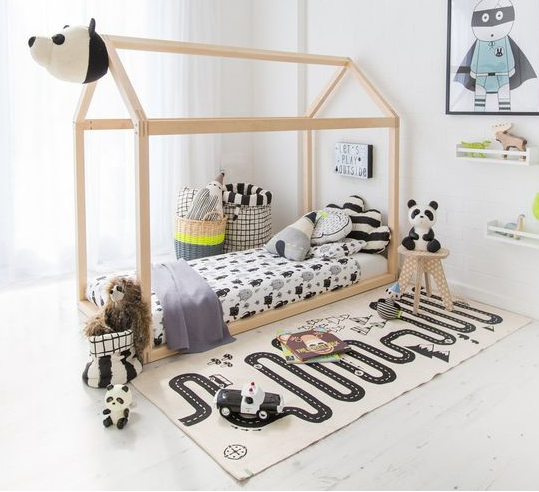 adventure rug by oyoy mini the modern shop. Black Bedroom Furniture Sets. Home Design Ideas
