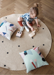 Dots Round Carpet by Ferm Living