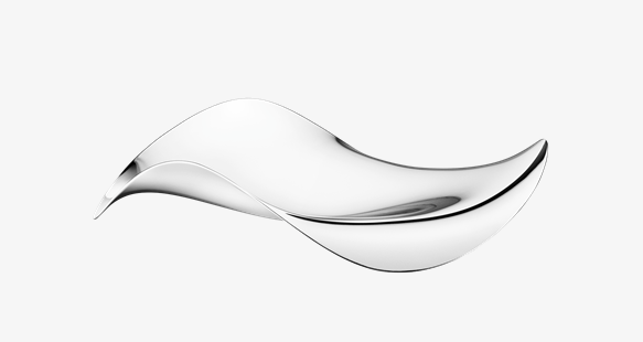 Cobra Bowl or Tray by Georg Jensen